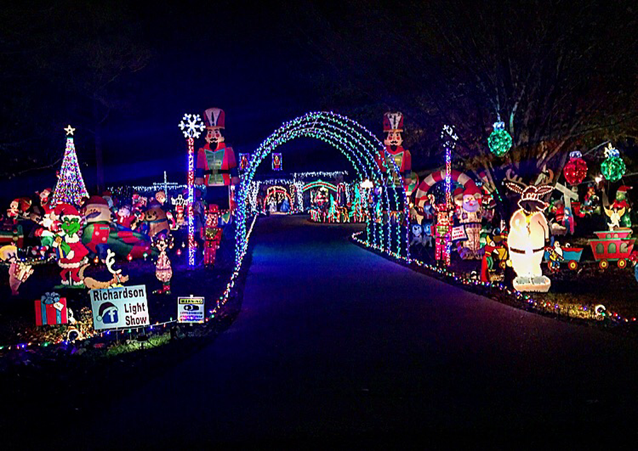 Richardson Light Show - Madison, Mississippi